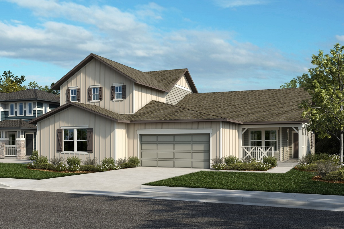 New Homes in Castle Rock, CO - Plan 2025 & Plan 1652 - Elevation 20A