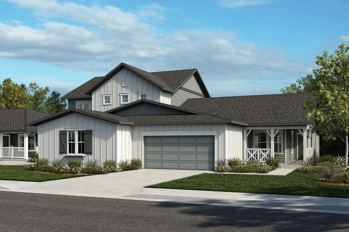 New Homes in Castle Rock, CO - Plan 2343 & Plan 1652 - Elevation 21A