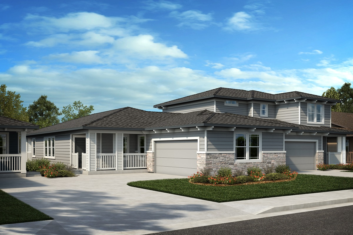 New Homes in Castle Rock, CO - Azure at The Meadows Villas Plan 1738