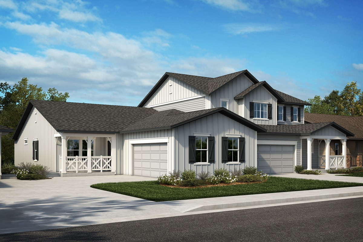 New Homes in Castle Rock, CO - Azure at The Meadows Villas Plan 1780