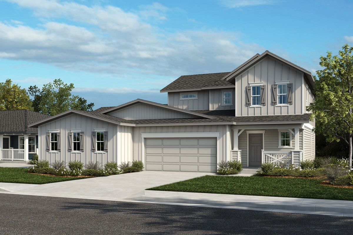 New Homes in Castle Rock, CO - Plan 1774 & Plan 1844 - Elevation 24A