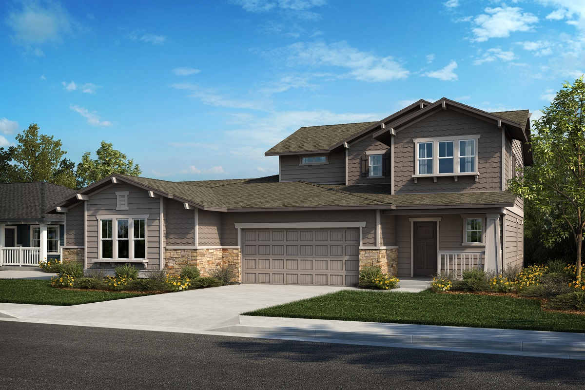 New Homes in Castle Rock, CO - Plan 1774 & Plan 1844 - Elevation 24B