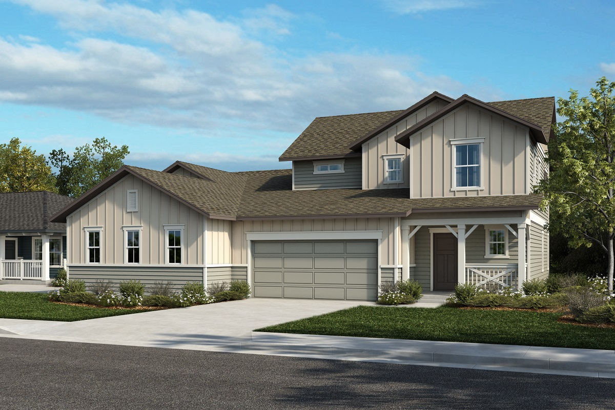 New Homes in Castle Rock, CO - Plan 1738 & Plan 1844 - Elevation 25A