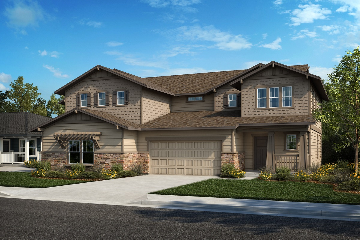 New Homes in Castle Rock, CO - Plan 2025 & Plan 1844 - Elevation 26B