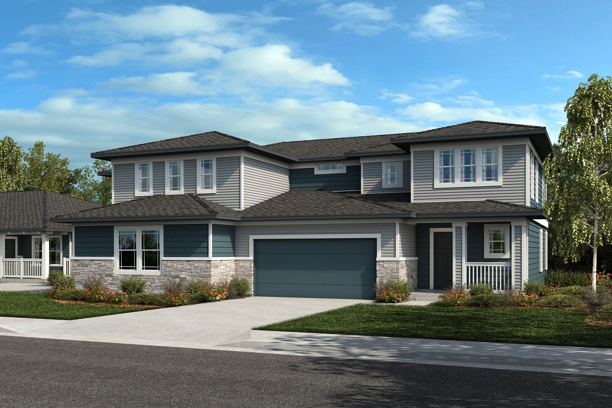 New Homes in Castle Rock, CO - Plan 2025 & Plan 1844 - Elevation 26C
