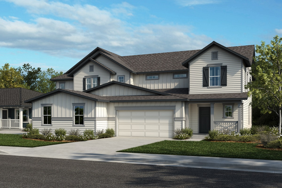 New Homes in Castle Rock, CO - Plan 2343 & Plan 1844 - Elevation 27A
