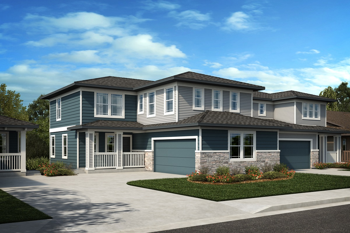 New Homes in Castle Rock, CO - Azure at The Meadows Villas Plan 2025