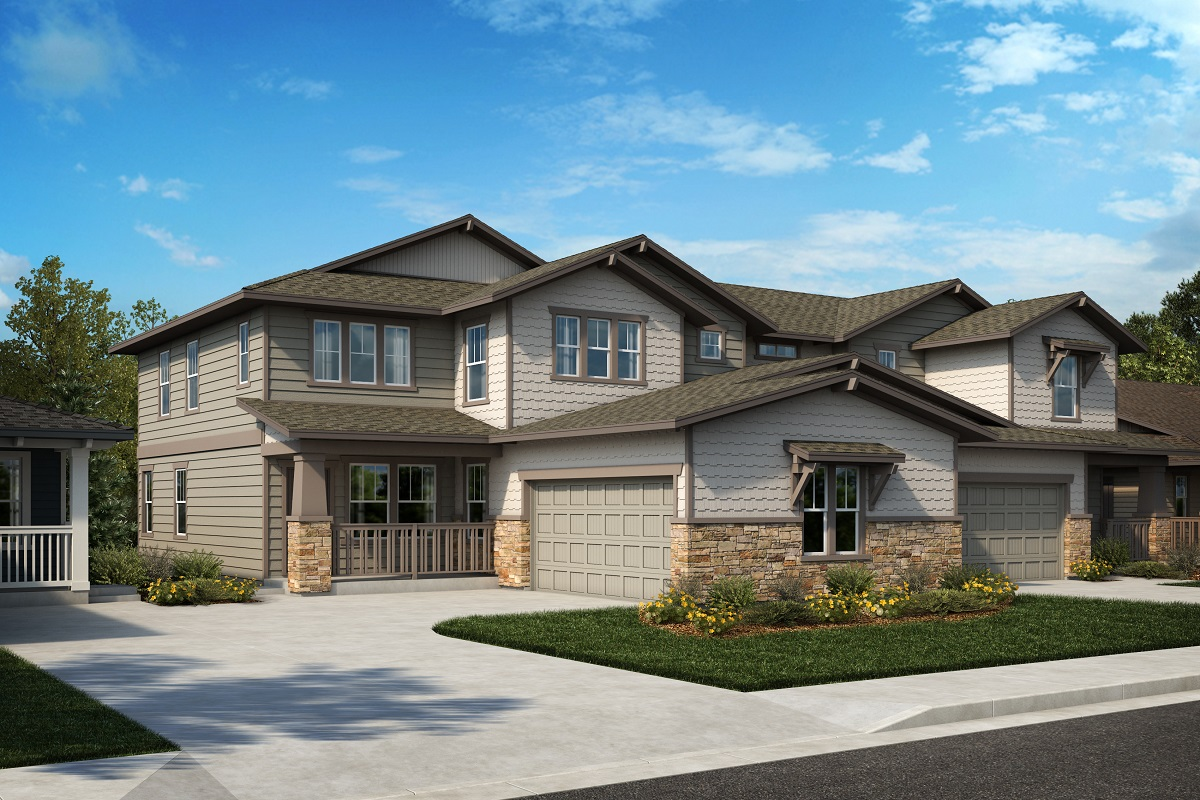 New Homes in Castle Rock, CO - Azure at The Meadows Villas Plan 2343