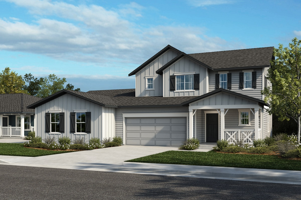 New Homes in Castle Rock, CO - Azure at The Meadows Villas Plan 2479