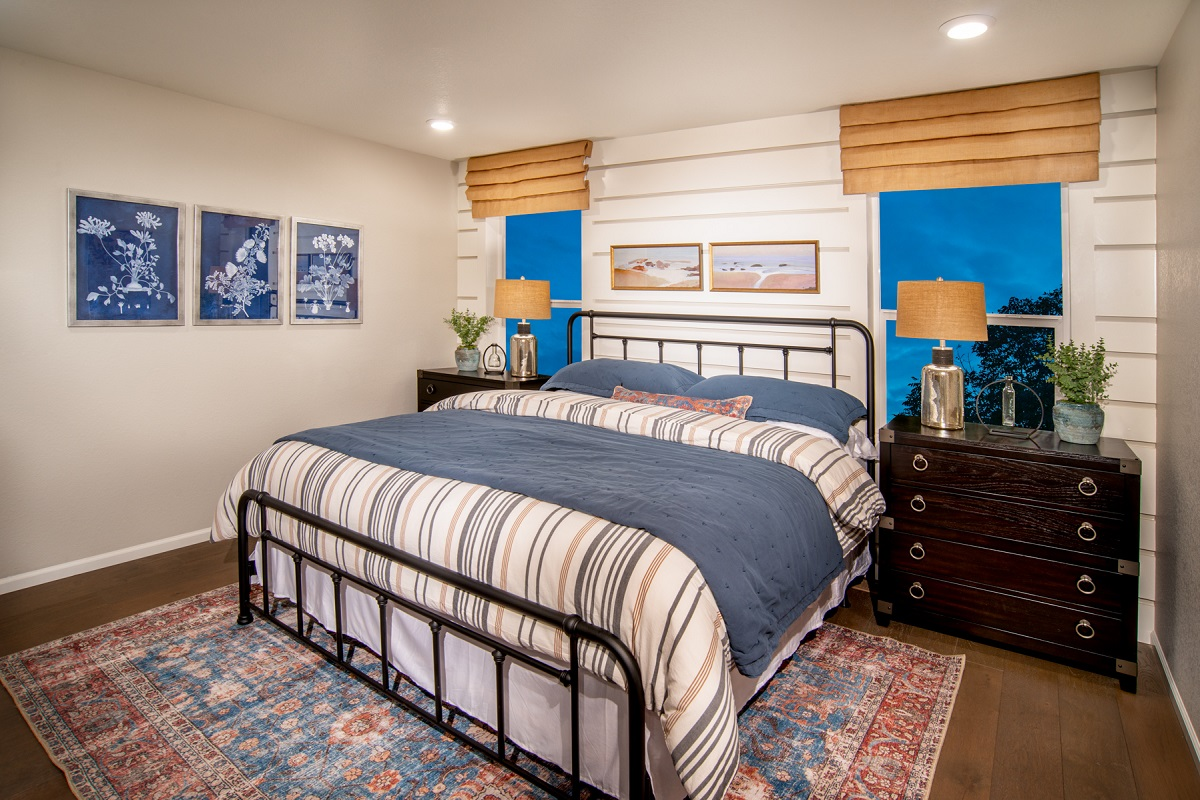 New Homes in Firestone, CO - Barefoot Lakes Plan 1382 - Master Bedroom