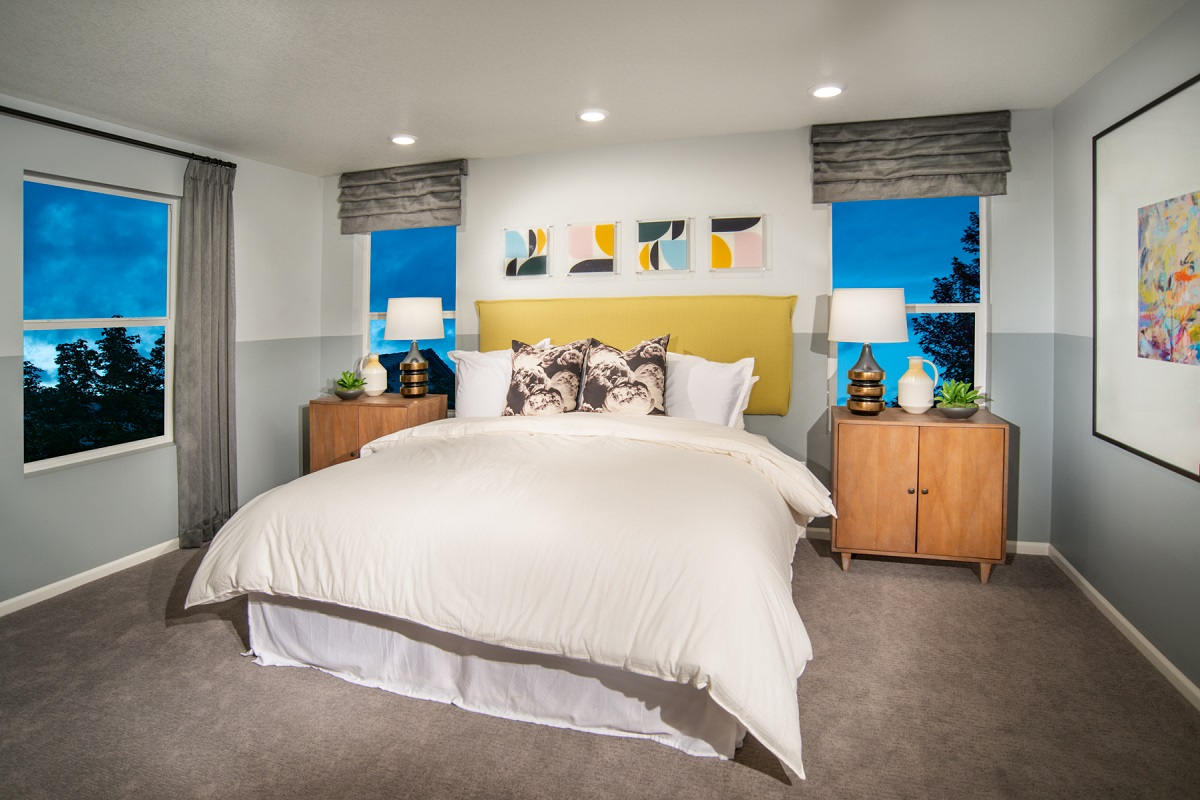 New Homes in Firestone, CO - Barefoot Lakes Plan 2282 - Master Bedroom