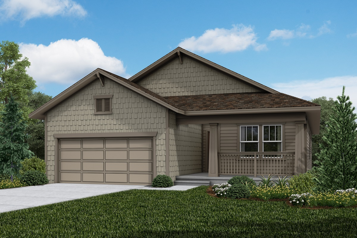 New Homes in Firestone, CO - Barefoot Lakes Plan 1821 - Elevation B
