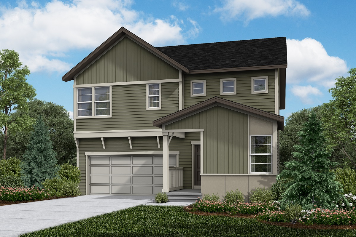 New Homes in Firestone, CO - Memory - Elevation D