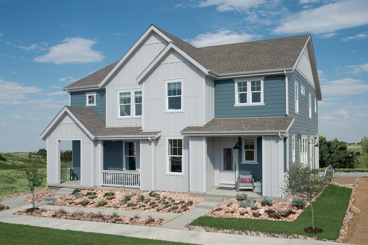 New Homes in Broomfield, CO - Baseline Villas Plan 1754 & Plan 1885