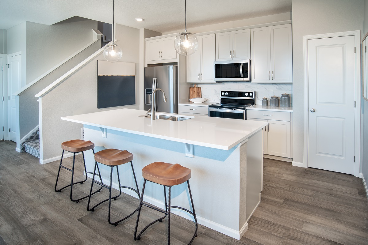 New Homes in Broomfield, CO - Baseline Villas Plan 1754 Kitchen