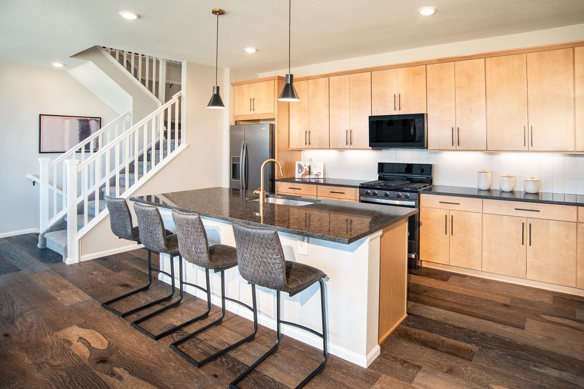 New Homes in Broomfield, CO - Baseline Villas Plan 1885 Kitchen