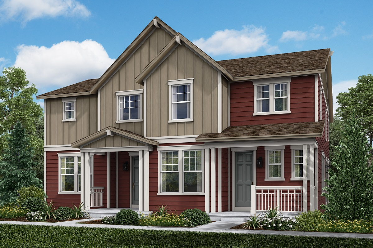 New Homes in Broomfield, CO - Walnut Modeled