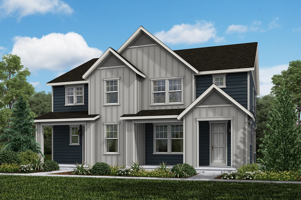New Homes in Broomfield, CO - Baseline Villas Plan 1885 & Plan 1671