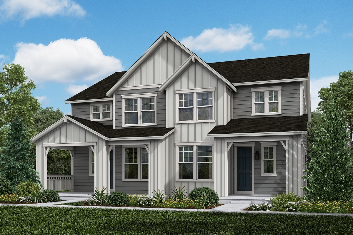 New Homes in Broomfield, CO - Plan 1885 & Plan 1885