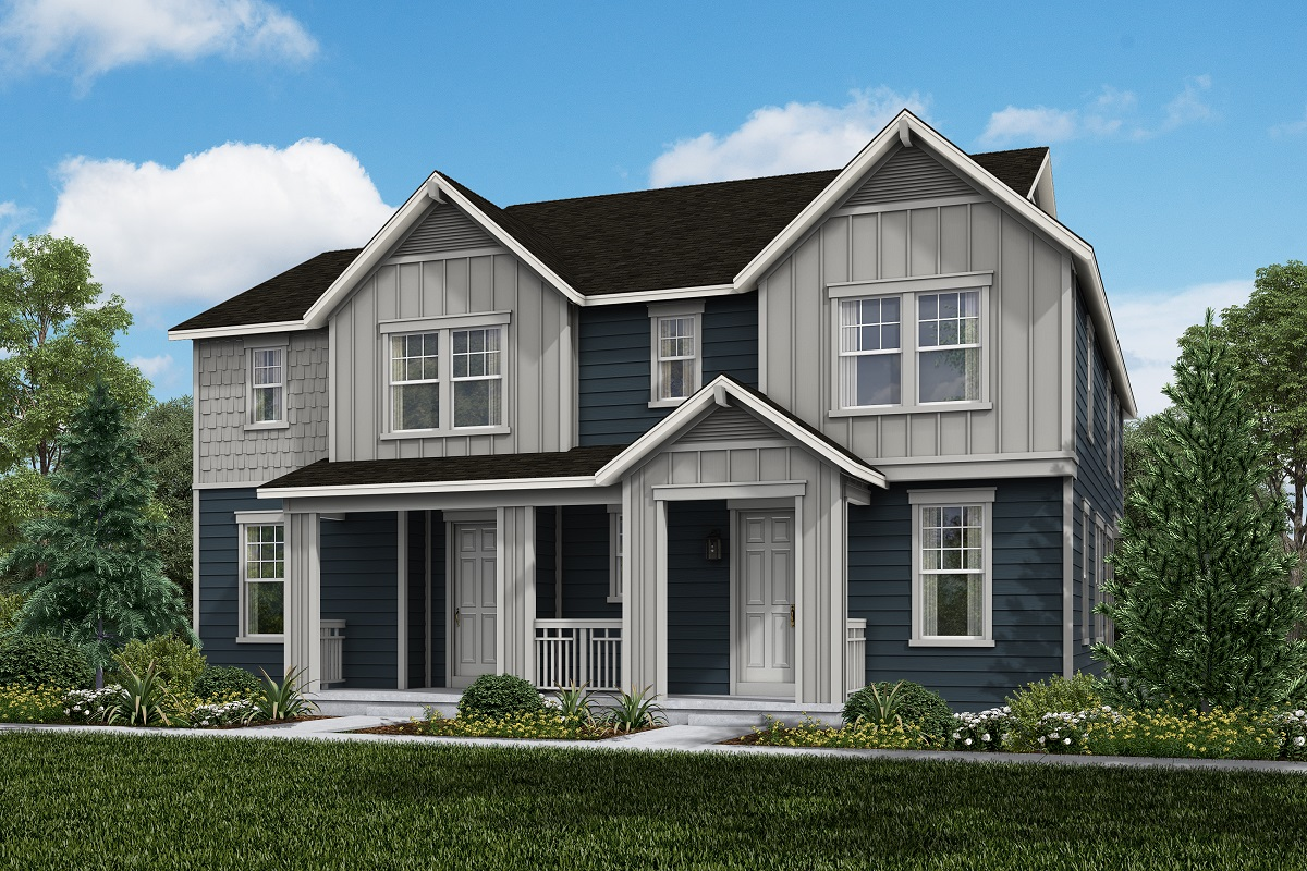 New Homes in Broomfield, CO - Baseline Villas Plan 1963 & Plan 1430