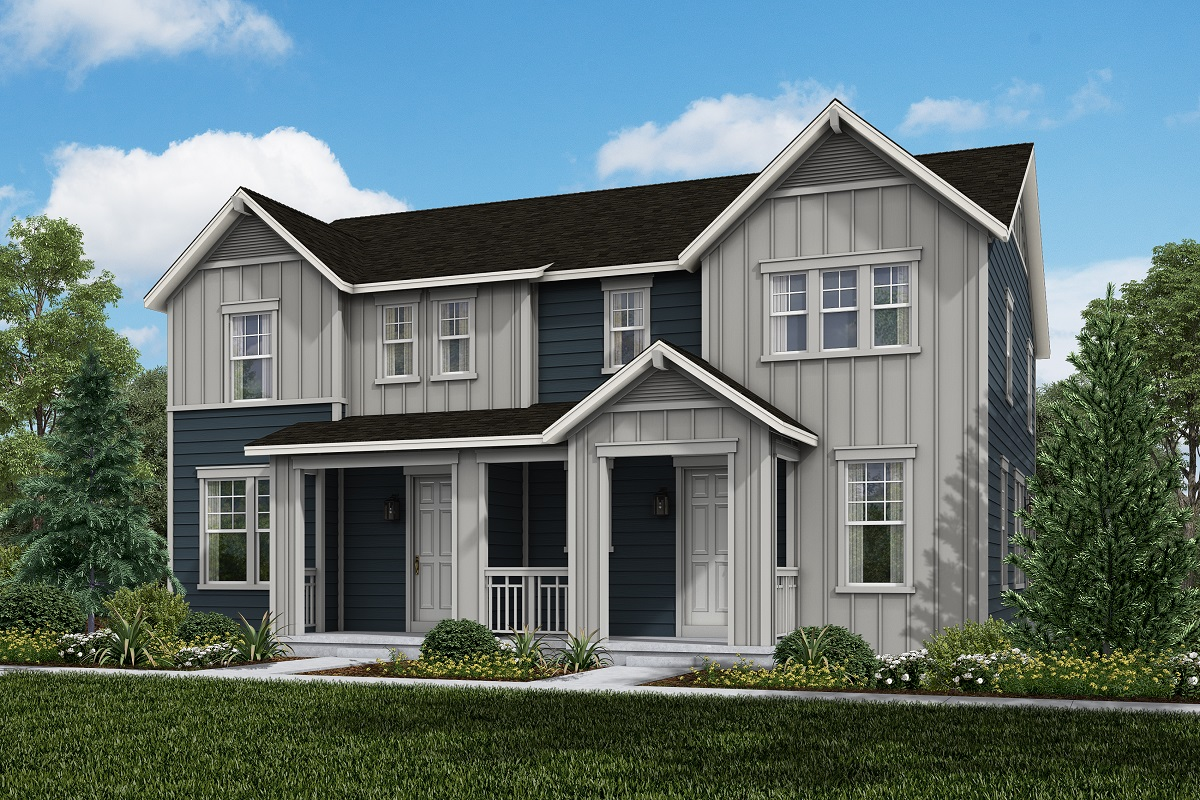 New Homes in Broomfield, CO - Baseline Villas Plan 1963 & Plan 1671