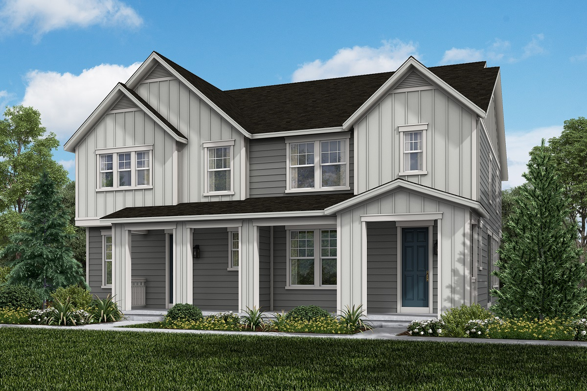 New Homes in Broomfield, CO - Baseline Villas Plan 1963 & Plan 1754