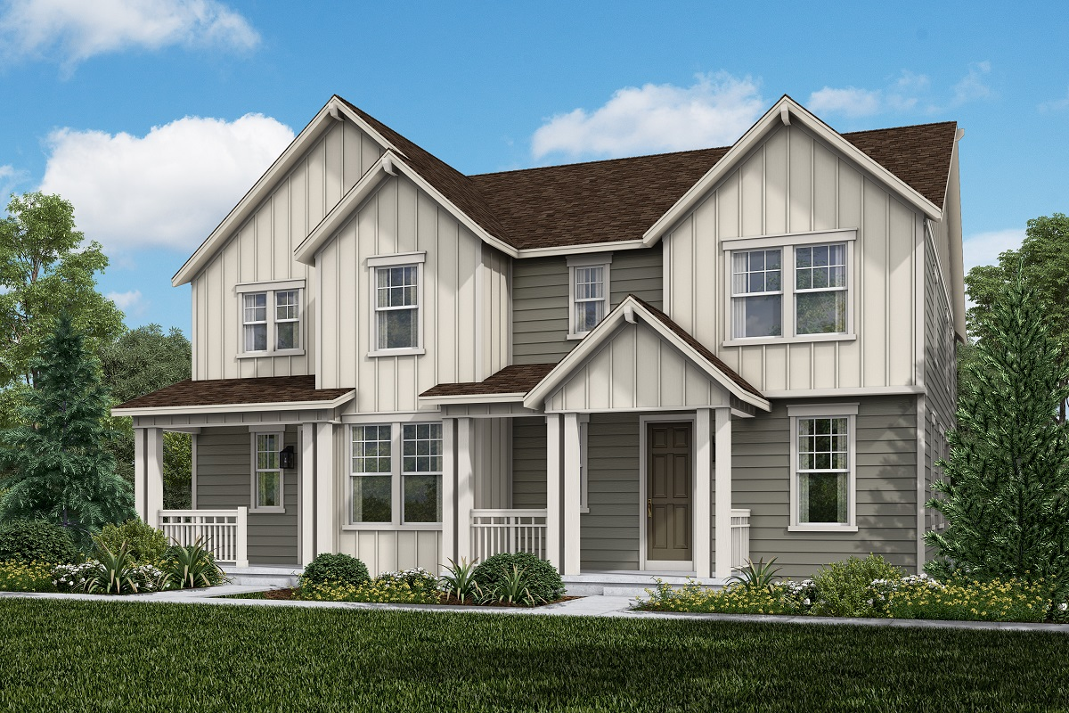 New Homes in Broomfield, CO - Baseline Villas Plan 1963 & Plan 1885