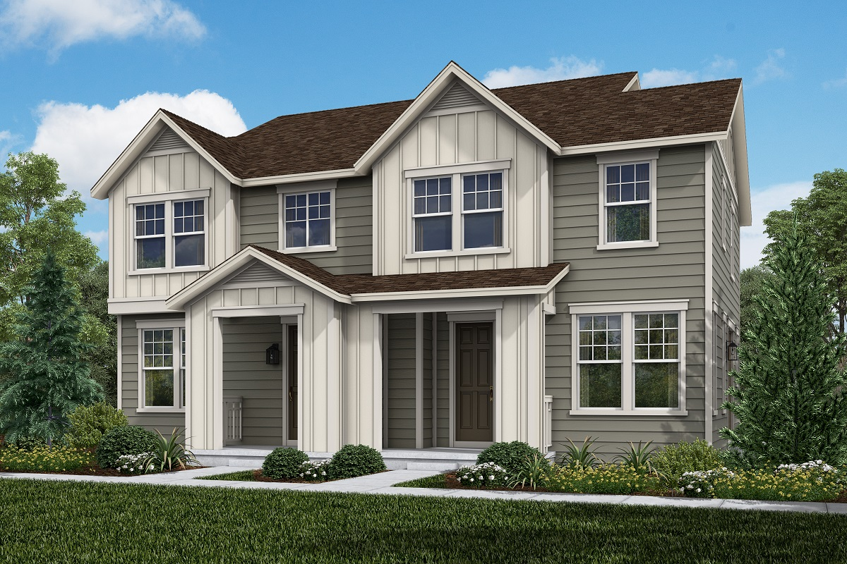 New Homes in Broomfield, CO - Baseline Villas Plan 1671 & Plan 1430