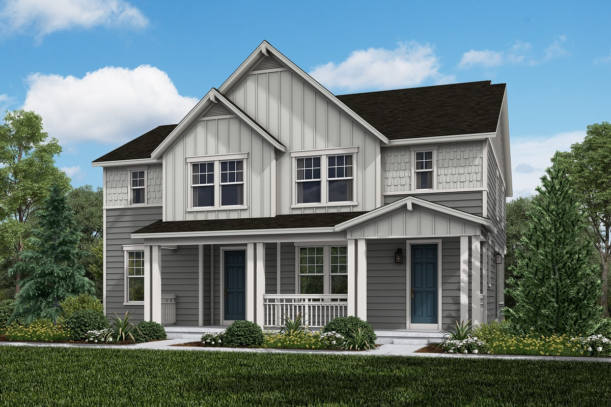New Homes in Broomfield, CO - Baseline Villas Plan 1754 & Plan 1430