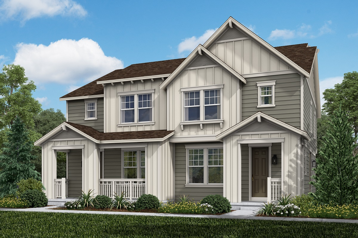 New Homes in Broomfield, CO - Baseline Villas Plan 1754 Modeled