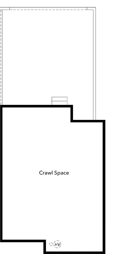 New Homes in Broomfield, CO - Plan 1430, Crawl Space