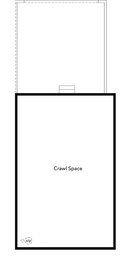 New Homes in Broomfield, CO - Plan 1754 Modeled, Crawl Space