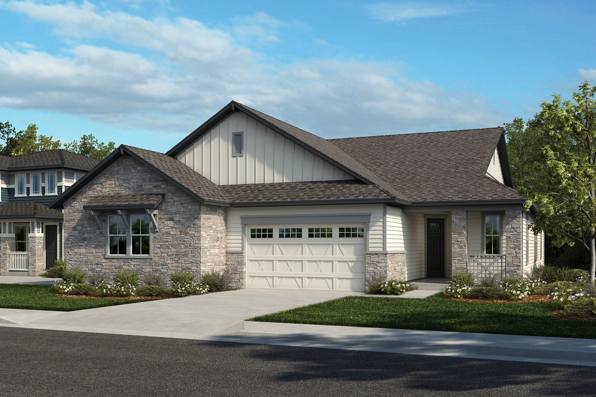 New Homes in Arvada, CO - Plan 1738 & Plan 1632 Elevation 13A