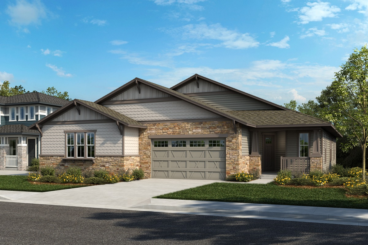 New Homes in Arvada, CO - Plan 1738 & Plan 1632 Elevation 13B