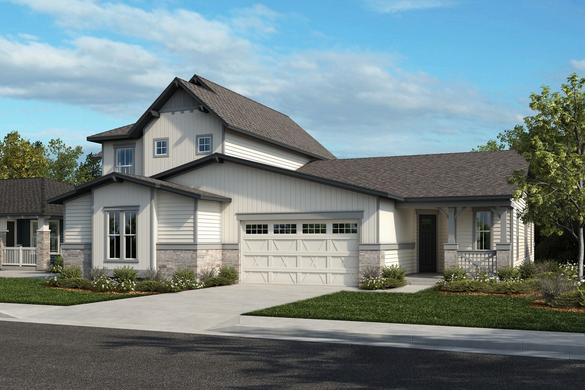 New Homes in Arvada, CO - Plan 2025 & Plan 1632 Elevation 22A