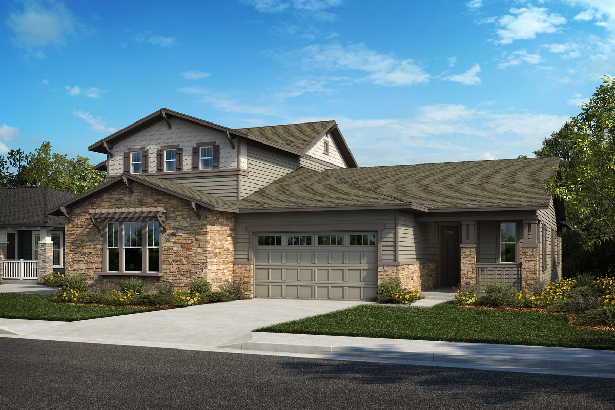 New Homes in Arvada, CO - Plan 2025 & Plan 1632 Elevation 22B