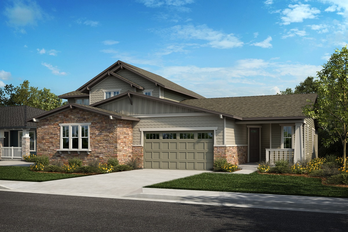 New Homes in Arvada, CO - Plan 2343 & Plan 1632 Elevation 23B