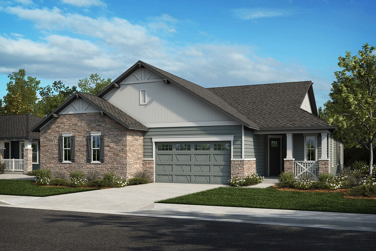 New Homes in Arvada, CO - Plan 1774 & Plan 1632 Elevation 5A