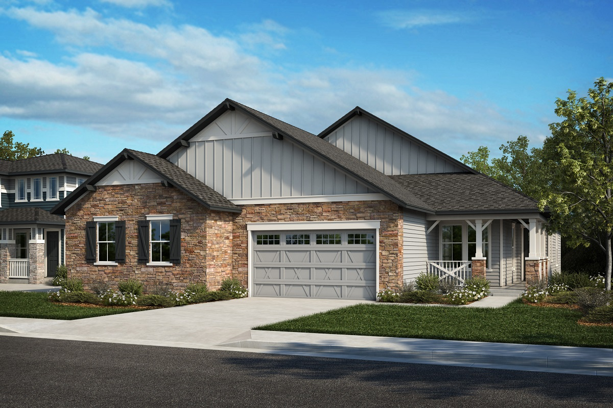New Homes in Arvada, CO - Plan 1780 & Plan 1652 Elevation 18A