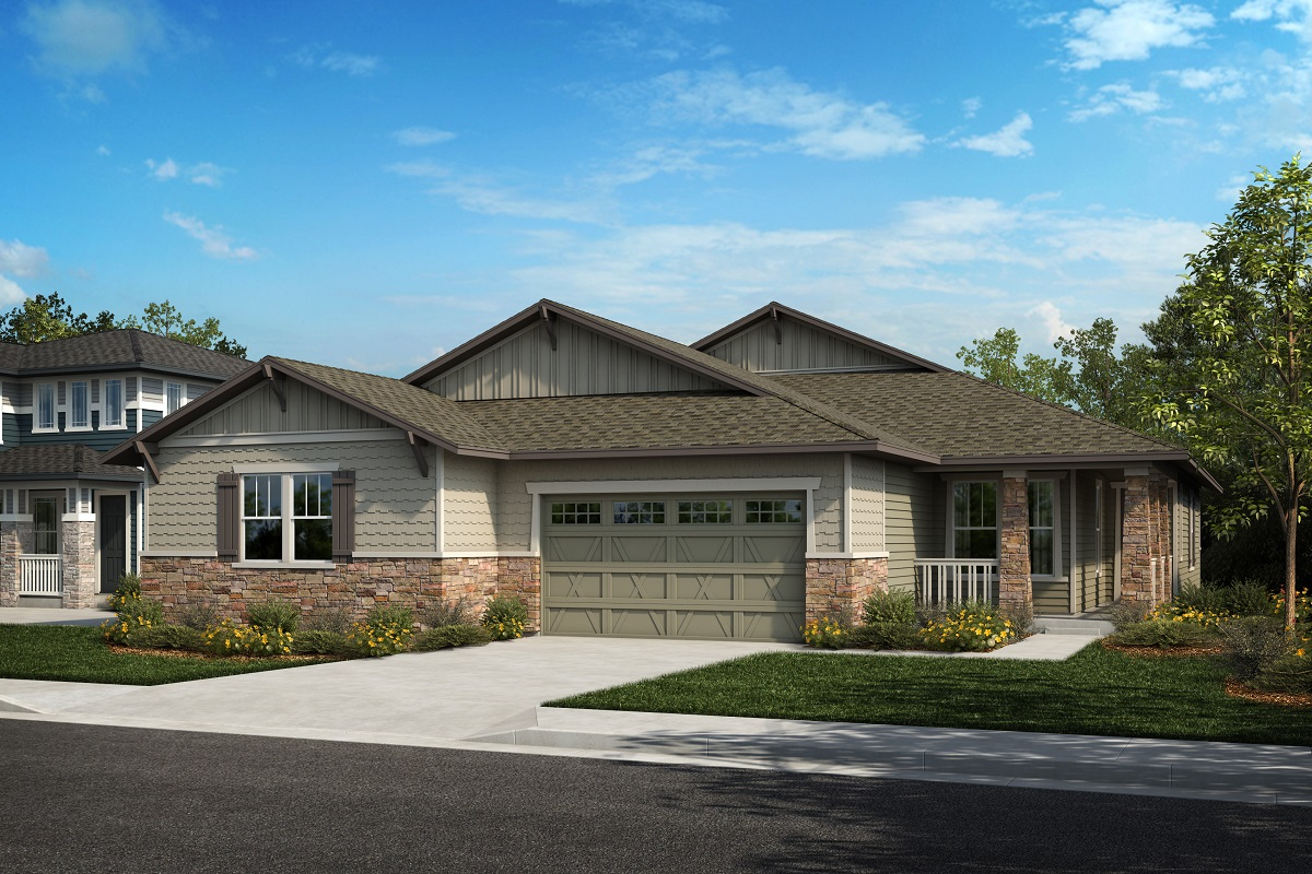 New Homes in Arvada, CO - Plan 1780 & Plan 1652 Elevation 18B