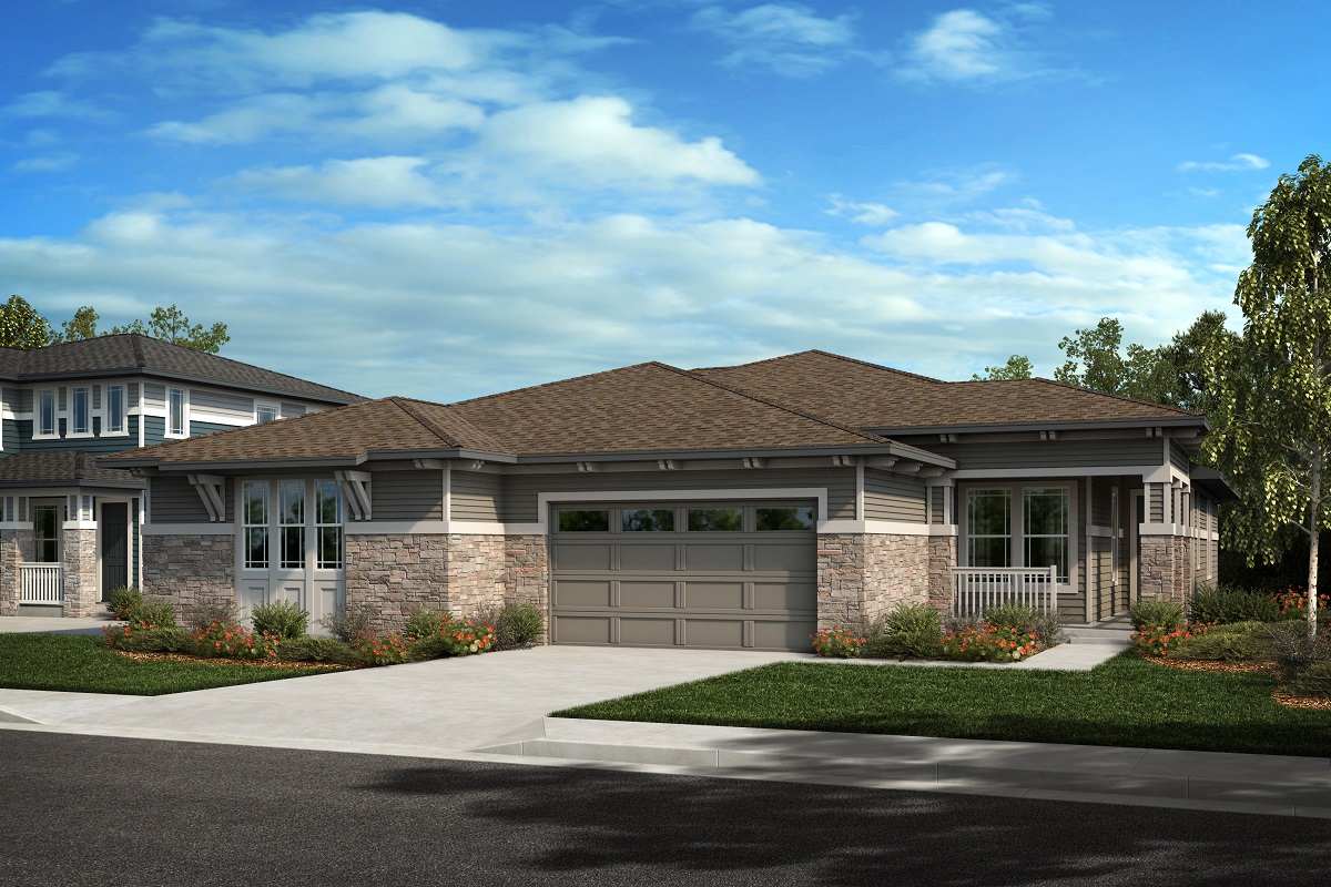 New Homes in Arvada, CO - Plan 1780 & Plan 1652 Elevation 18C