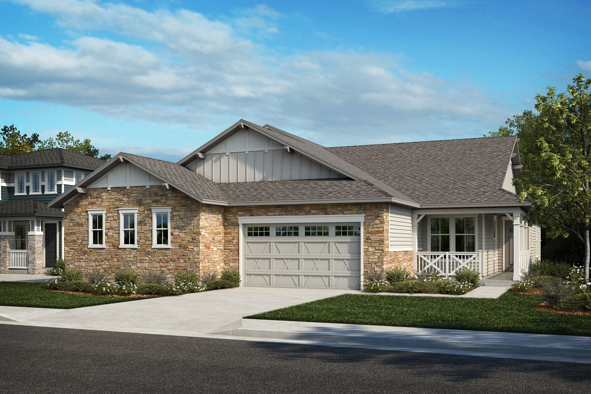 New Homes in Arvada, CO - Plan 1738 & Plan 1652 Elevation 19A