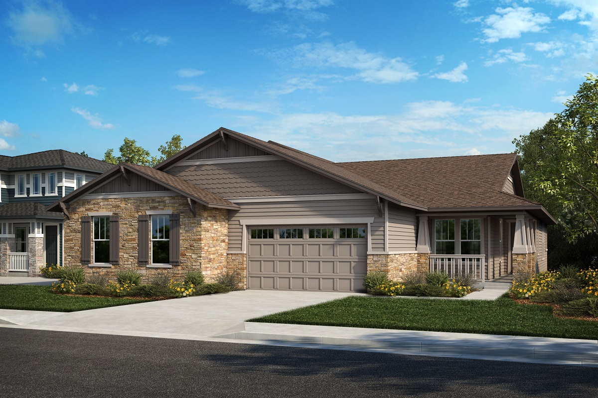 New Homes in Arvada, CO - Plan 1738 & Plan 1652 Elevation 19B