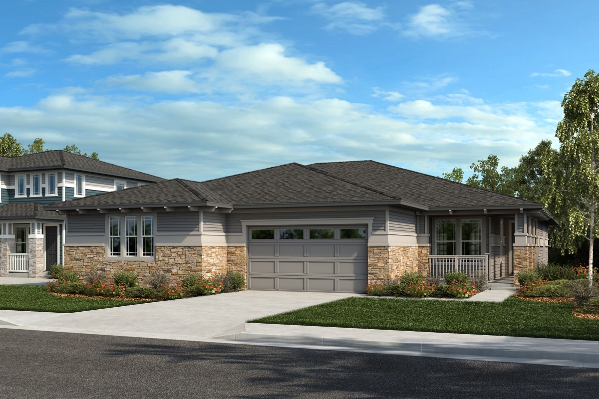 New Homes in Arvada, CO - Plan 1738 & Plan 1652 Elevation 19C