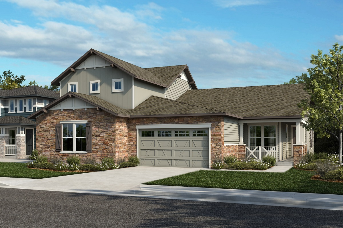 New Homes in Arvada, CO - Plan 2343 & Plan 1652 Elevation 20A