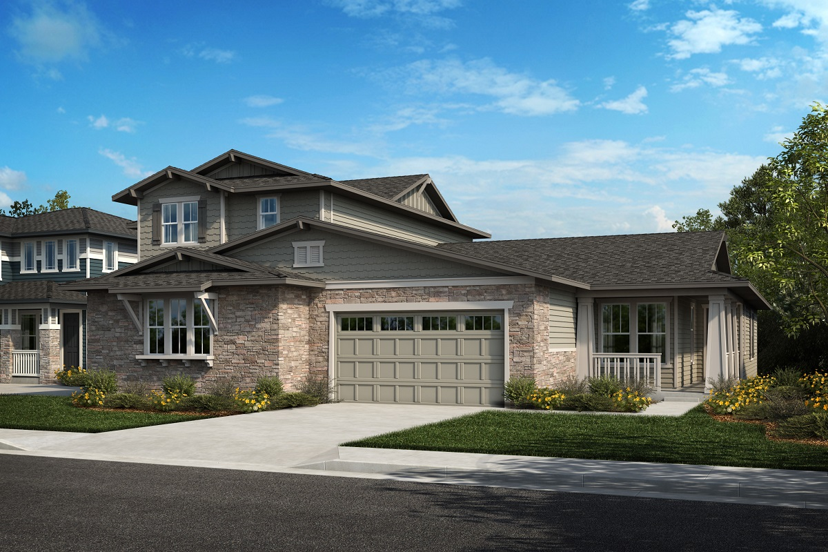 New Homes in Arvada, CO - Plan 2343 & Plan 1652 Elevation 20B