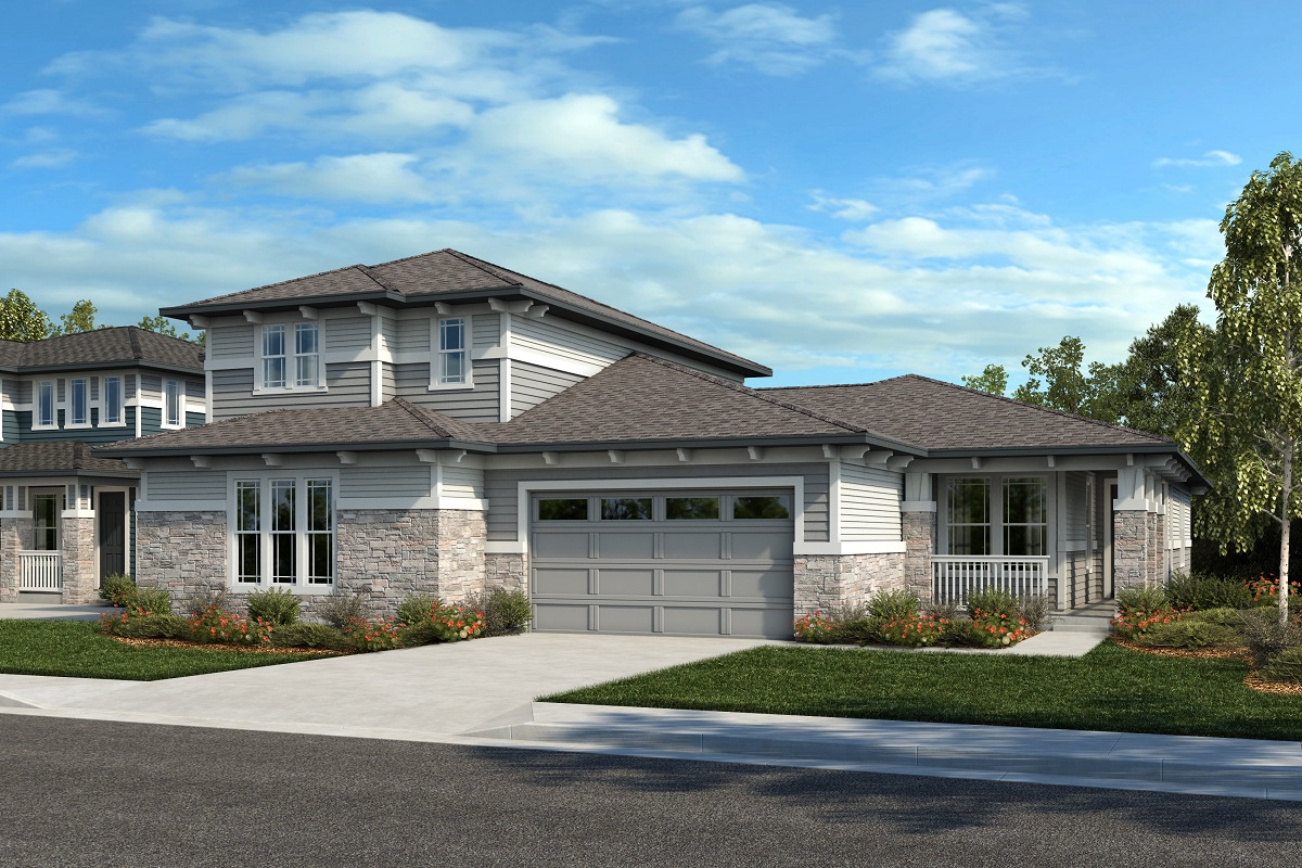 New Homes in Arvada, CO - Plan 2343 & Plan 1652 Elevation 20C