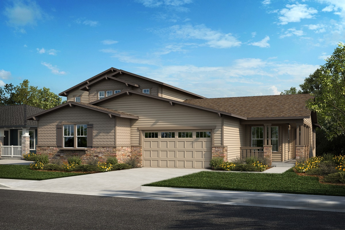 New Homes in Arvada, CO - Plan 2025 & Plan 1652 Elevation 21B