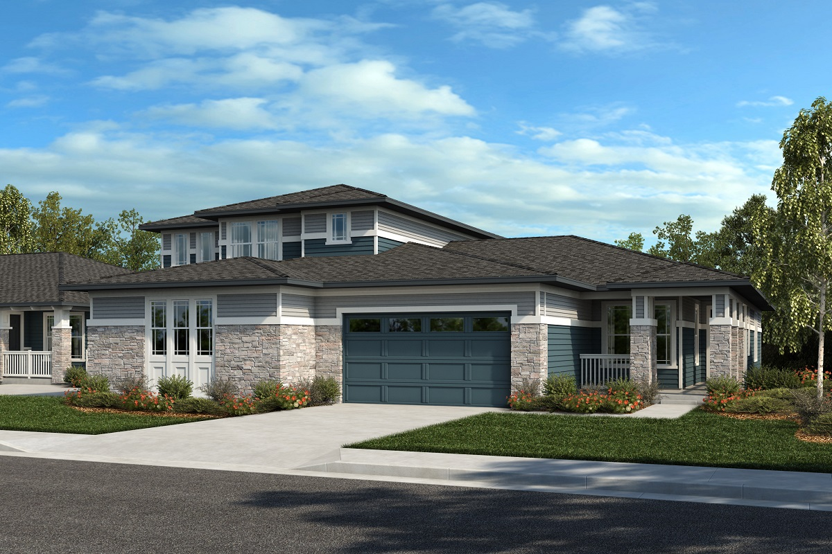New Homes in Arvada, CO - Plan 2025 & Plan 1652 Elevation 21C