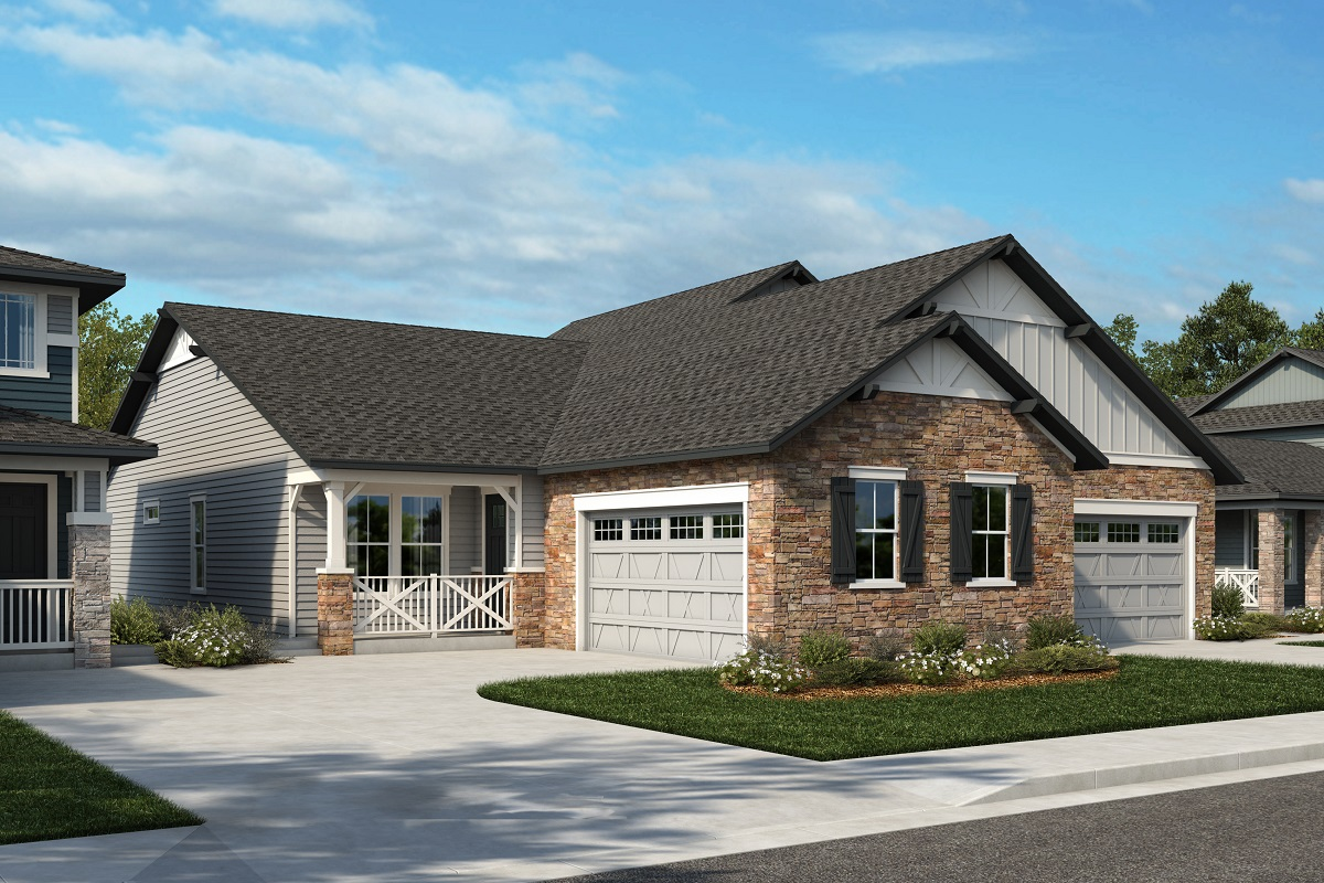 New Homes in Arvada, CO - Plan 1774 & Plan 1652 Elevation 18A